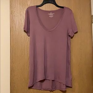 American Eagle soft tee, size M, lavender